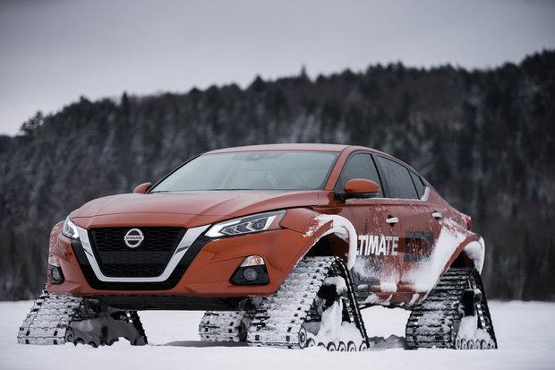 New Nissan ALTIMA-te Showcases Sedan's AWD in Spectacular Ways