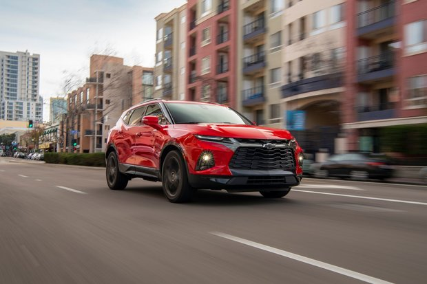 ALL-NEW CHEVY BLAZER BRINGS THE WOW FACTOR