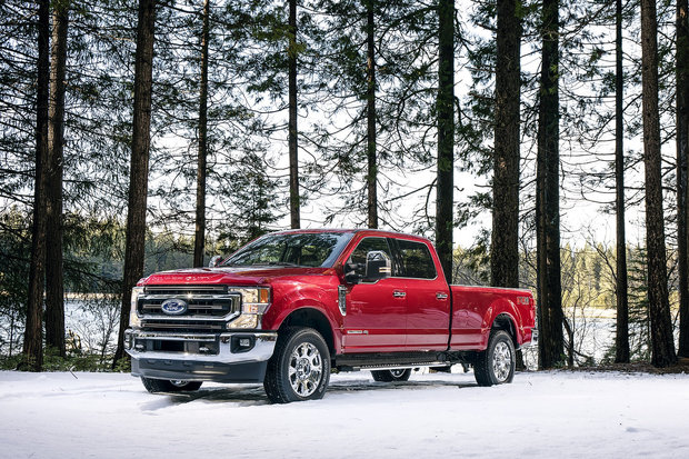 2020 Ford Super Duty Gets More Torque and More Towing