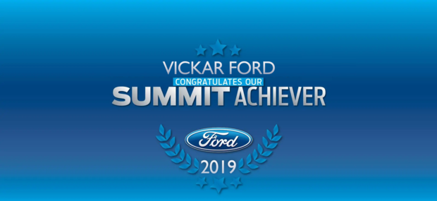 VICKAR FORD SALES REPS SHAWN HENKE, ANDREA MASCI AMONG TOP FORD REPS IN CANADA