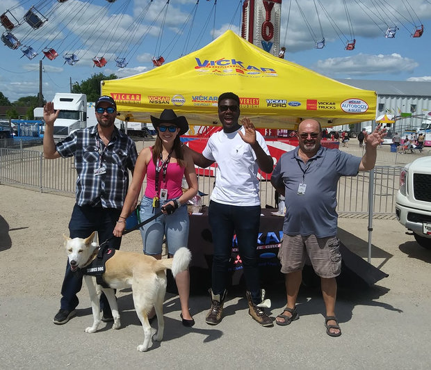 Great times at the Manitoba Stampede!