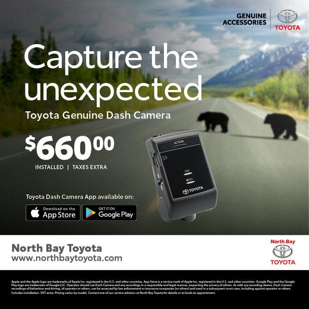 Genuine Toyota Dash Cam