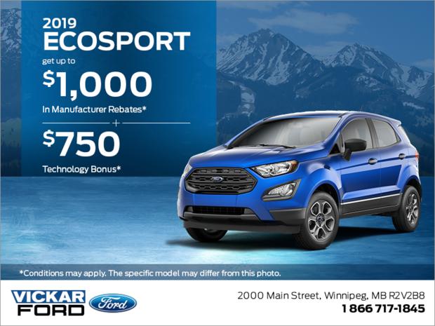 2019 Ford EcoSport!