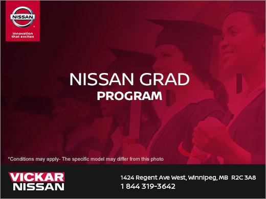 Vickar Nissan's Grad Program