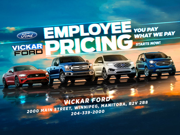 The Ford Employee Pricing Event