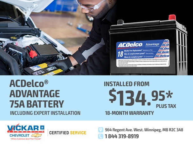Ac Delco Battery Warranty >> Acdelco Advantage 75a Battery Chez Vickar Community