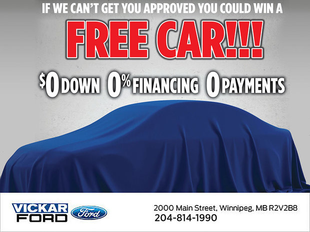 Vickar Ford Win a Free Car!