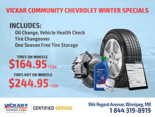 Vickar Community Chevrolet Winter Special