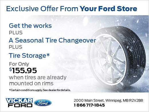 Exclusive Offer From Your Ford Store