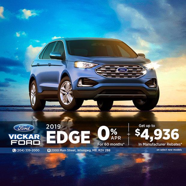2019 Ford Edge $4,936 in Savings!