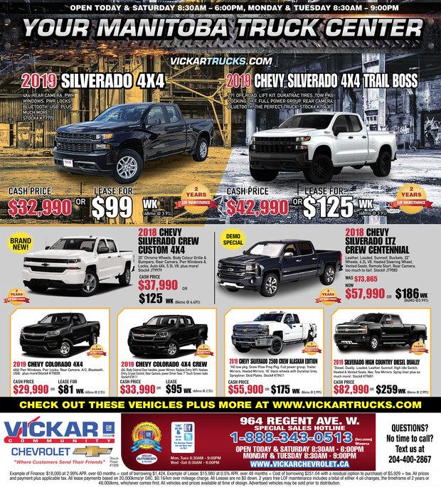 Your Manitoba Truck Center