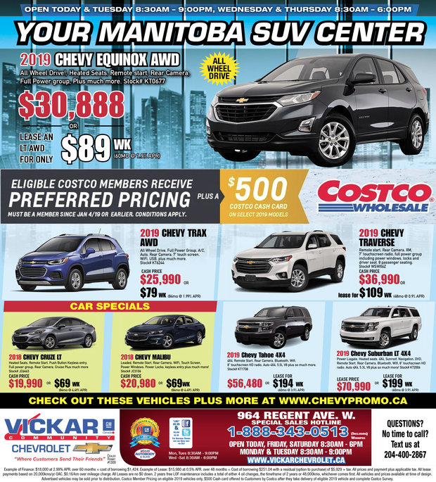 Your Manitoba SUV Center