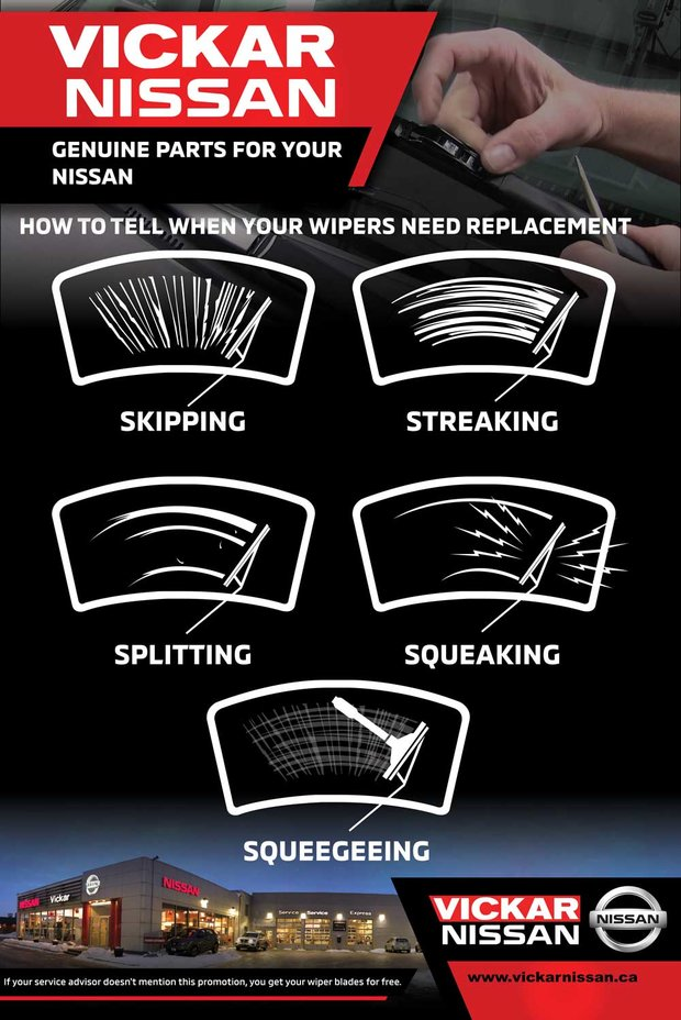 HOW TO TELL WHEN YOUR WIPERS NEED REPLACEMENT