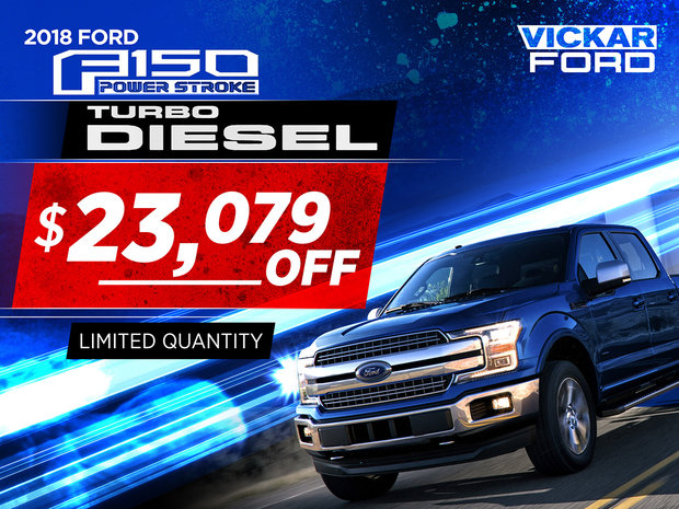 Vickar Ford Turbo Diesel Big Discount