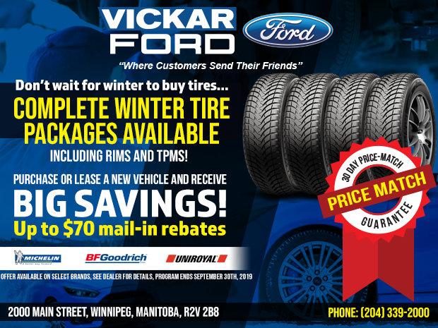 Vickar Ford  Winter Tire Special