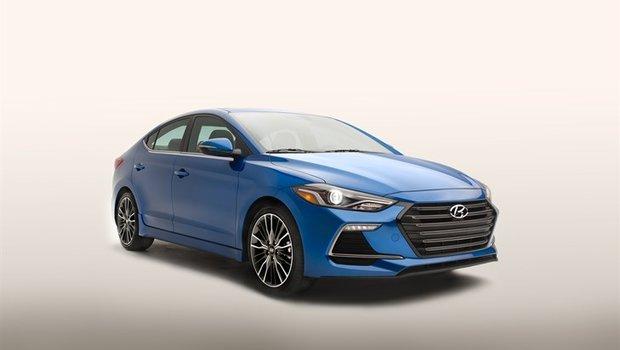 Voici la nouvelle Hyundai Elantra Sport 2017