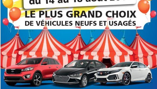 Vente sous la tente chez Hyundai Casavant à St-Hyacinthe!