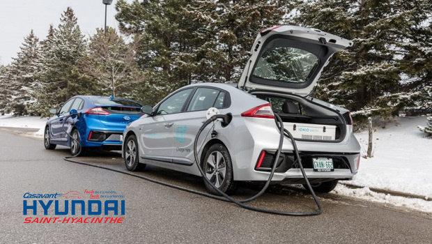 Hyundai lance un service mobile de recharge de véhicules électriques