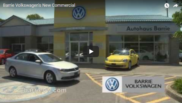 Barrie Volkswagen's New Commercial