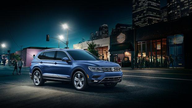 Quelques essais routiers en résumé du Volkswagen Tiguan 2019