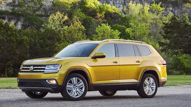 Les essais routiers du Volkswagen Atlas 2019 sont sortis