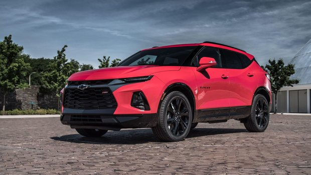 2019 New Chevrolet Blazer Repentigny Chevrolet