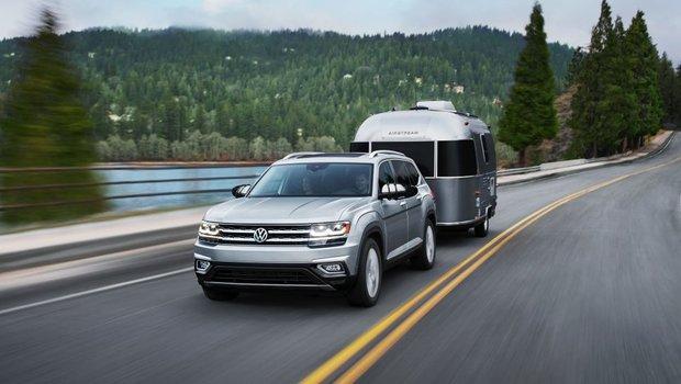 Les essais routiers du nouveau Volkswagen Atlas 2018