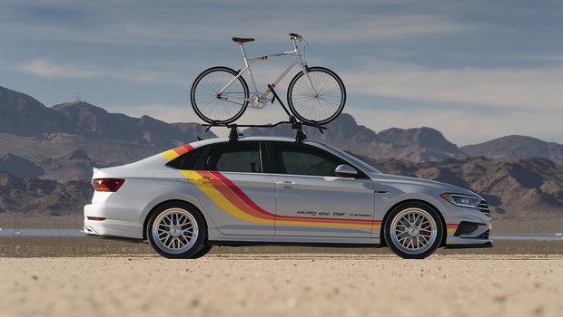 Trois Volkswagen Jetta 2019 présentée à Las Vegas au SEMA