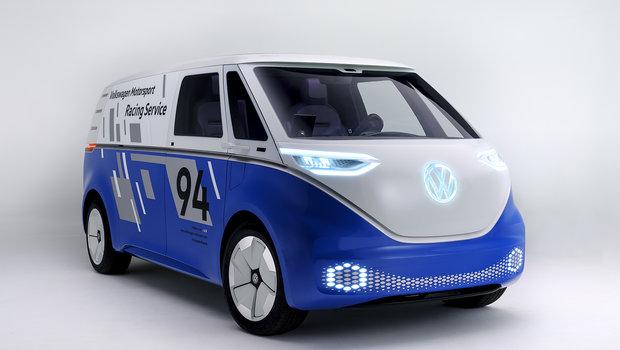 Volkswagen dévoile le I.D. Buzz Cargo électrique à Los Angeles