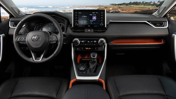 2019 Toyota RAV4 featured on Wards Auto Top 10 Interiors