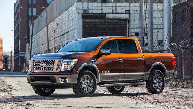 2017 Nissan Titan: redefining the pickup