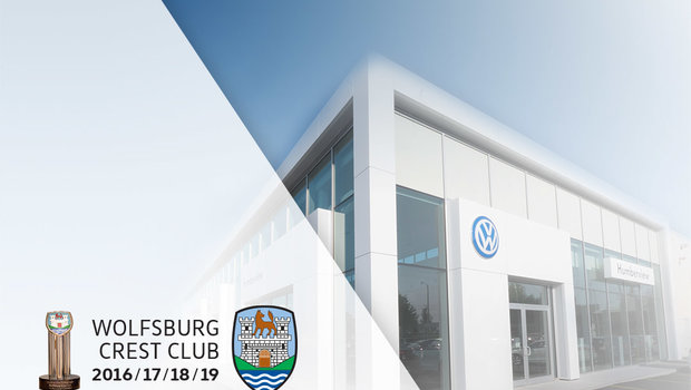 Four-Time Winner of the Wolfsburg Crest!