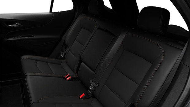 Jet Black Perforated Leather