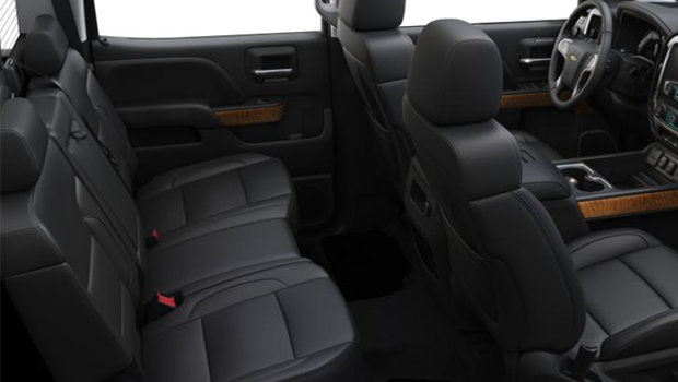 Jet Black Leather Bucket Seats (H2U-AN3)