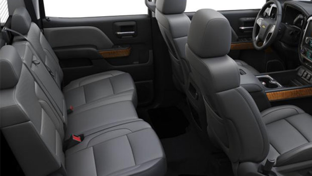 Dark Ash/Jet Black Perforated Leather Buckets Seats  (H3C-AN3)