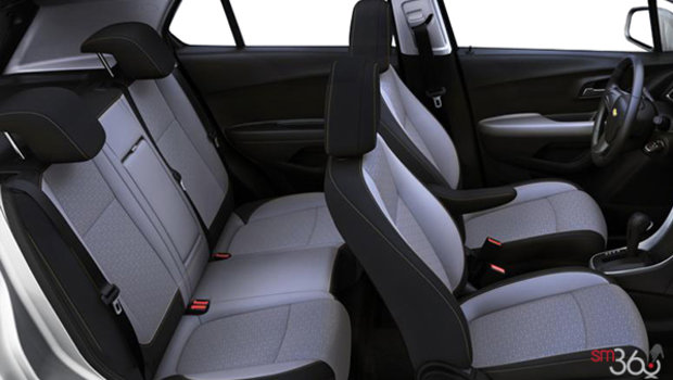 Jet Black/ Light Ash Grey Bucket seats Cloth (AFK-AR9)