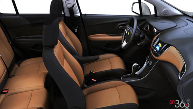Jet Black/Brandy Bucket seats Deluxe Cloth (AFR-AR9)