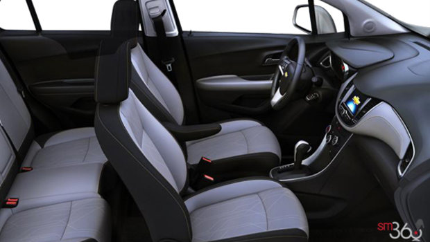 Jet Black/Light Ash Grey Bucket seats Deluxe Cloth (AFQ-AR9)