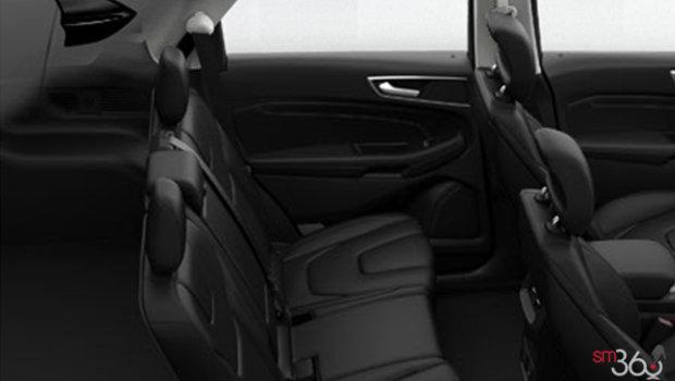 Ebony Perforated Leather