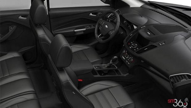 Charcoal Black Salerno Leather