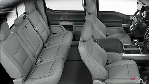 Medium Earth Grey Leather Buckets Seats (HG)