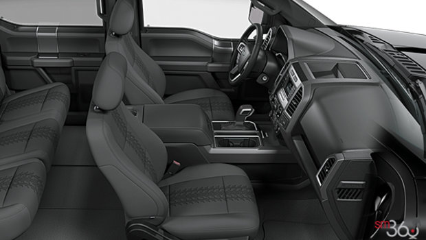 Black Sport Cloth Buckets Seats (FB)