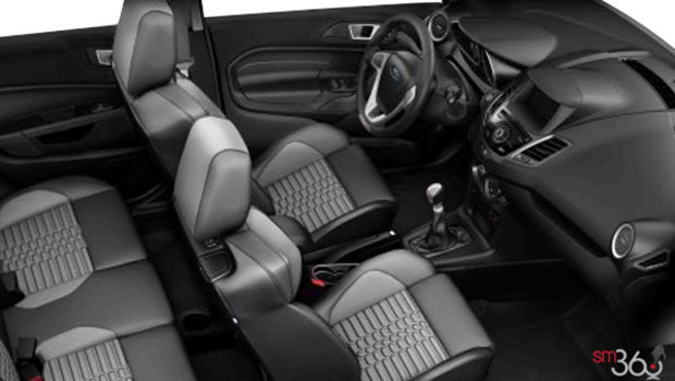 Smoke Storm Recaro Partial Leather(CY)