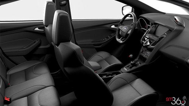 Charcoal Black Recaro Leather