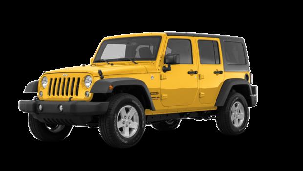 jeep wrangler jk unlimited sport s 2018 partir de 39090 0 grenier automobile. Black Bedroom Furniture Sets. Home Design Ideas