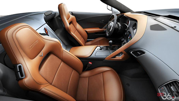 Kalahari GT buckets Leather seating surfaces with sueded microfiber inserts (344-AQ9)