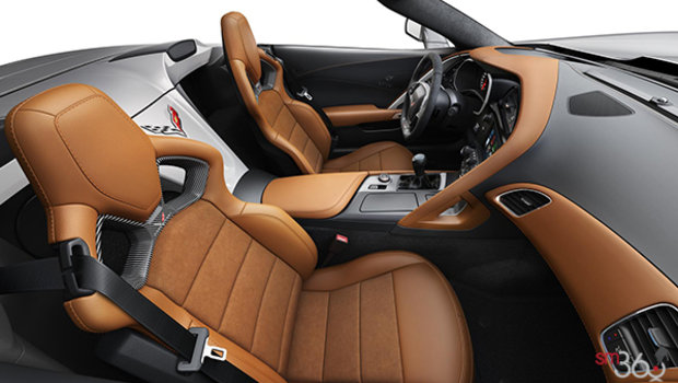 Kalahari Competition Sport buckets Leather seating surfaces with sueded microfiber inserts (346-AE4)