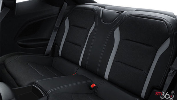 Jet Black RECARO Leather with sueded inserts (H1T-AQJ)