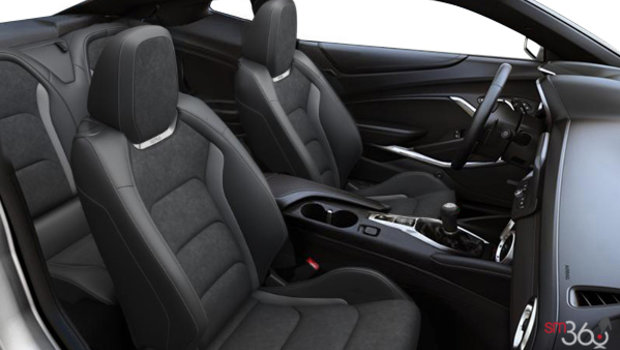 Jet Black RECARO Leather with sueded inserts (H0Y-AQJ)