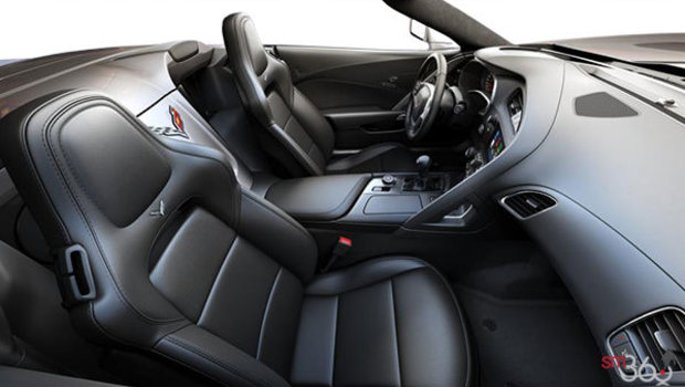 Jet Black GT buckets Perforated Mulan leather seating surfaces (193-AQ9)